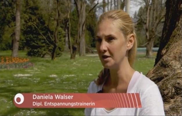 Ernährungstrainerin Daniela Walser über progressive Muskelrelaxation