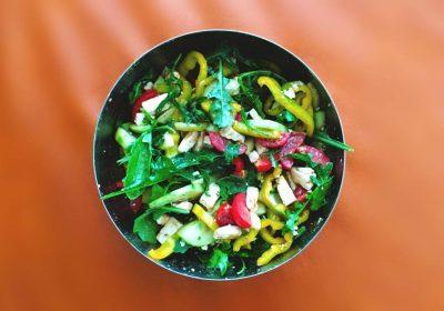 Gesundheit Ernährung Griechischer Salat