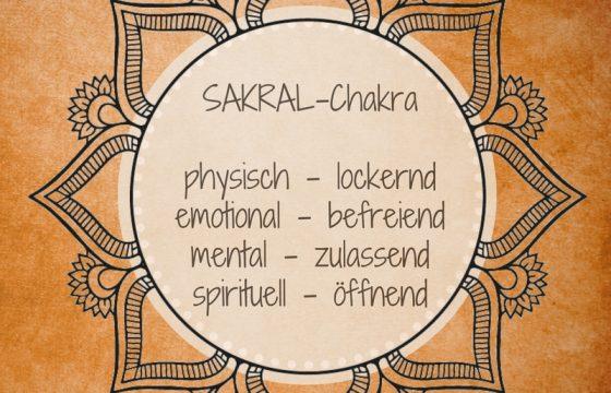 YOGAGEN Sakralchakra Sexualchakra Svadhishthana