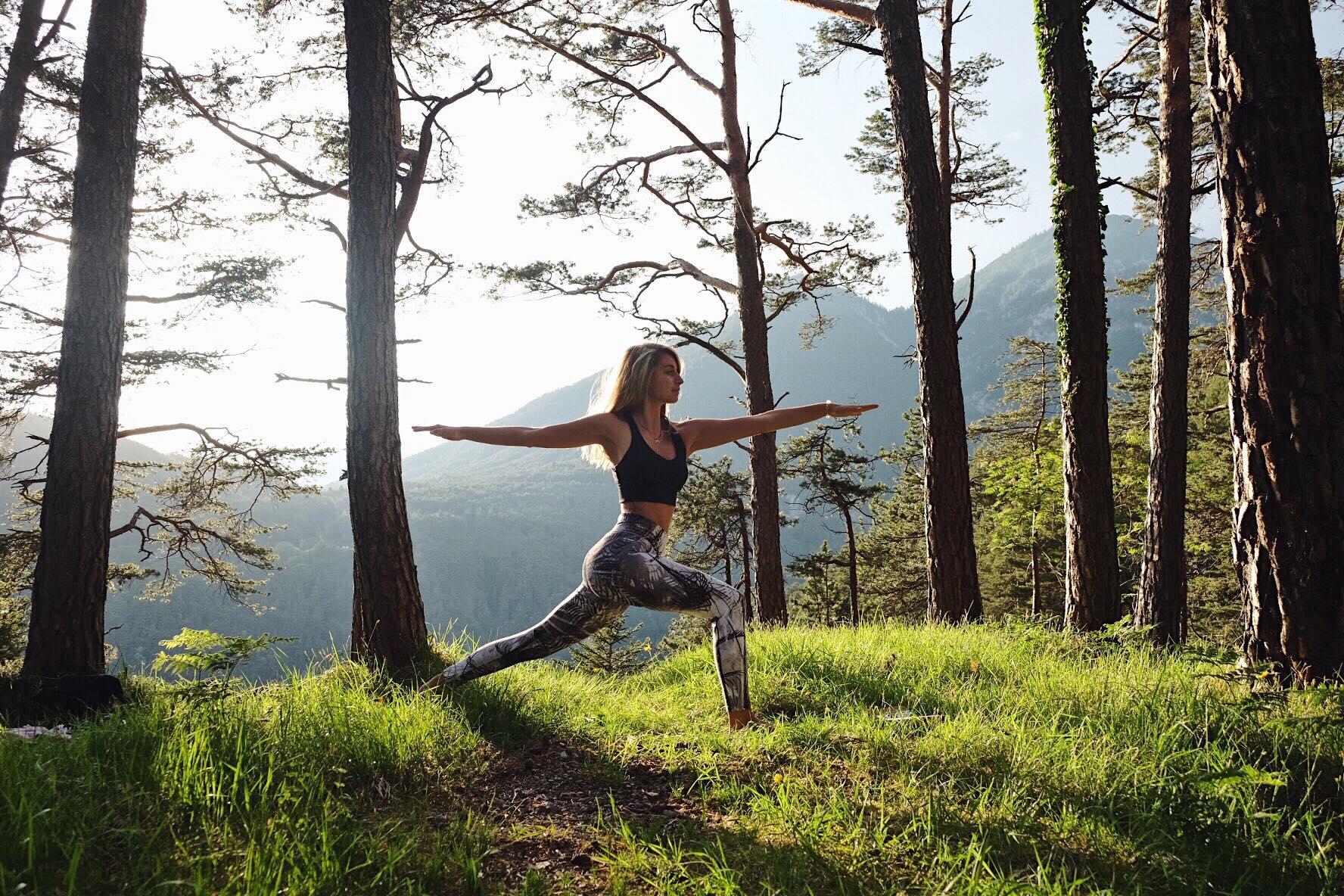 Yogaflow, YogaGen, Bewegung, Gesundheit, Waldplaftzerl, Yoga und Natur